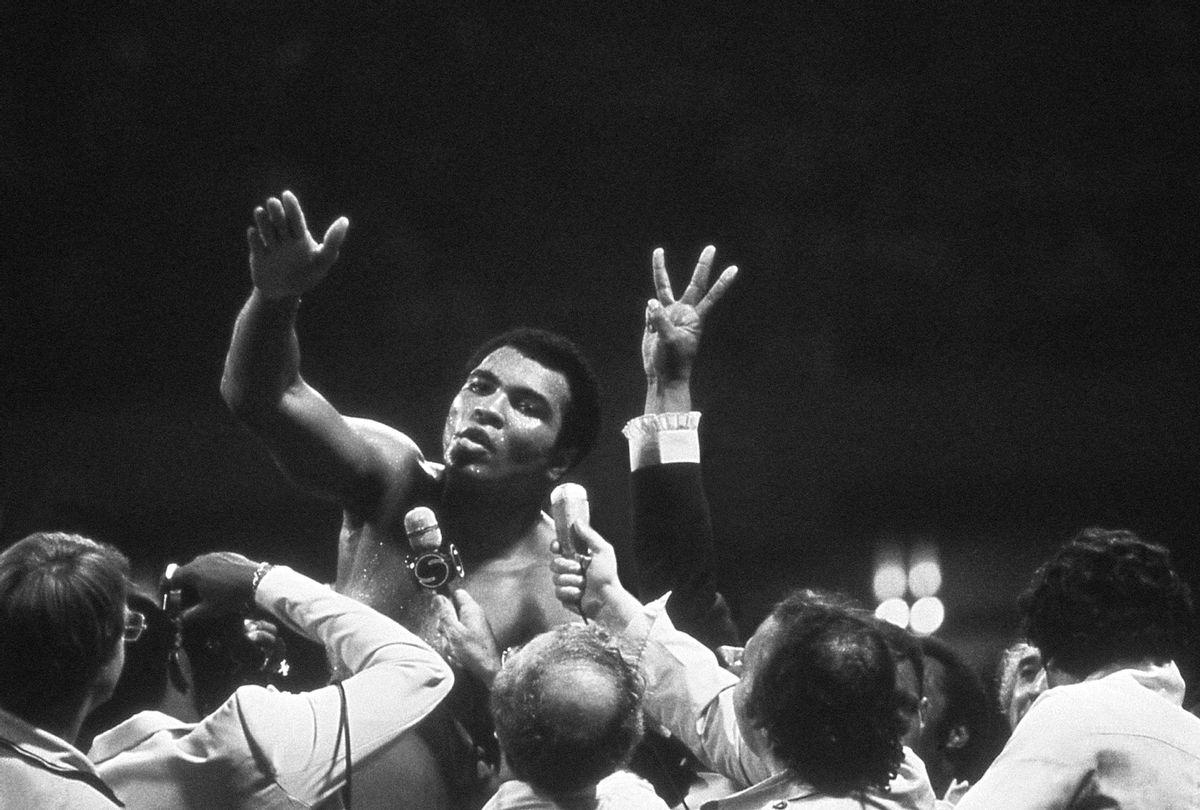 Muhammad Ali (Photo courtesy of Michael Gaffney)