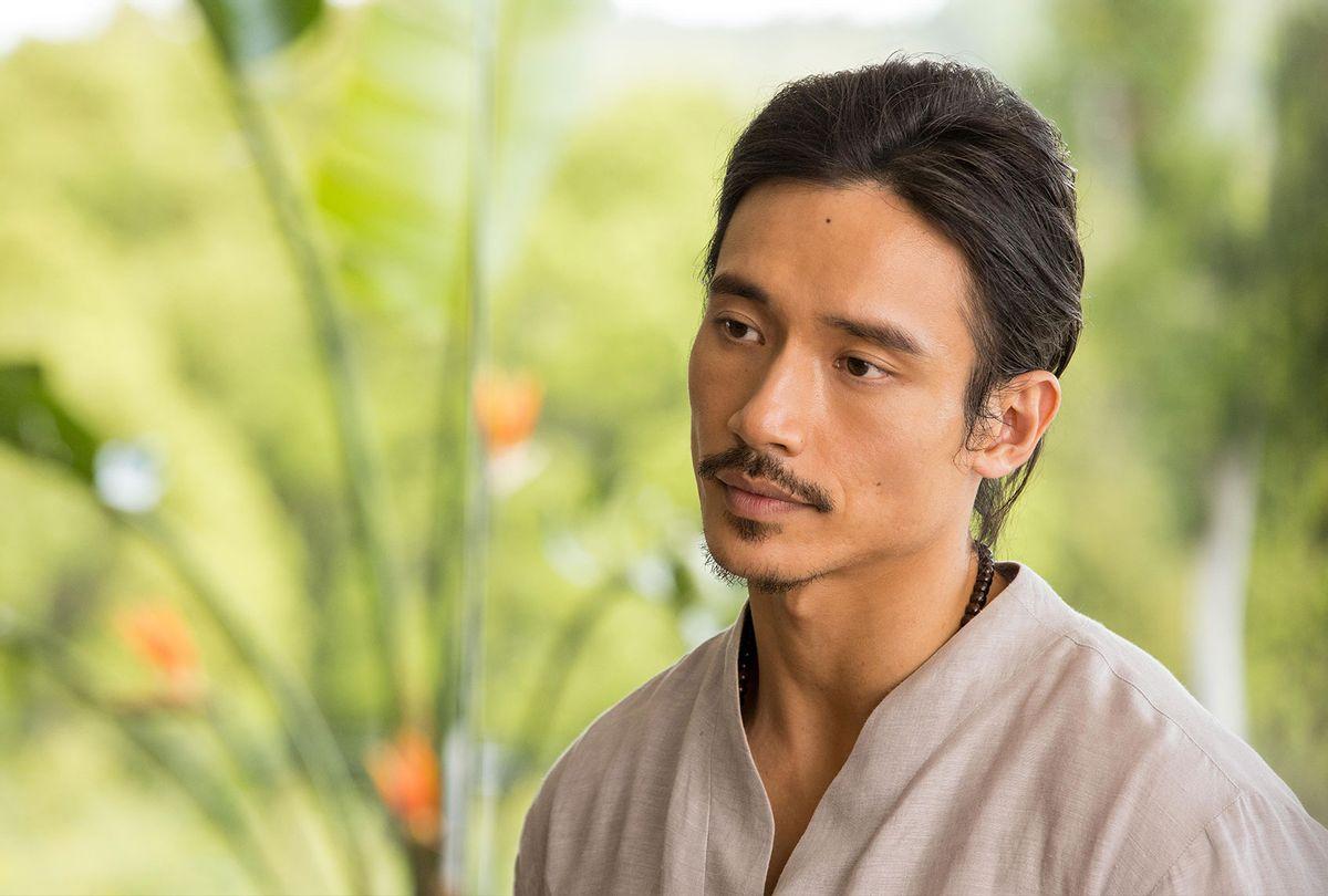 "Manny Jacinto in ""Nine Perfect Strangers"" (Vince Valitutti/Hulu)"