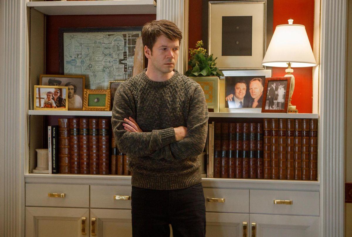 "James Caverly as Theo in ""Only Murders in the Building"" (Craig Blankenhorn/Hulu)"