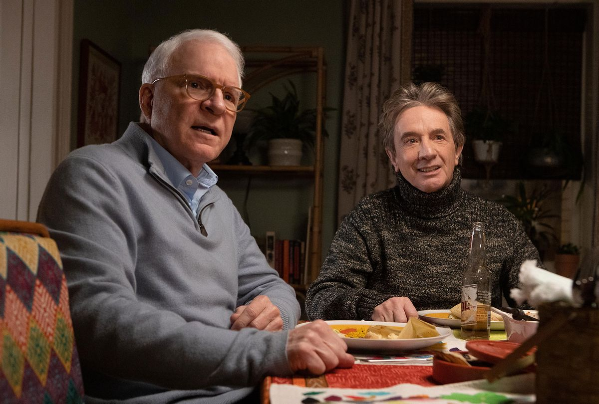 """Steve Martin and Martin Short in """"Only Murders in the Building"""" (Hulu)"""