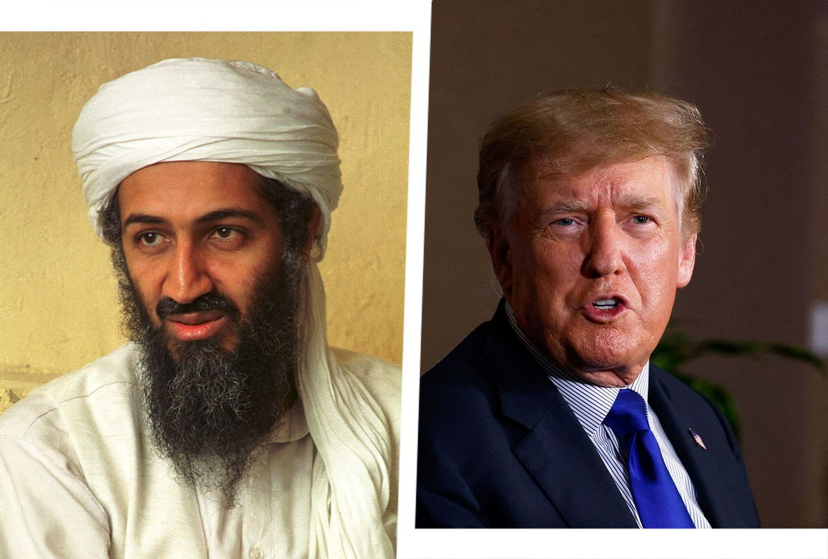 Osama bin Laden and Donald Trump (Photo illustration by Salon/Getty Images/)