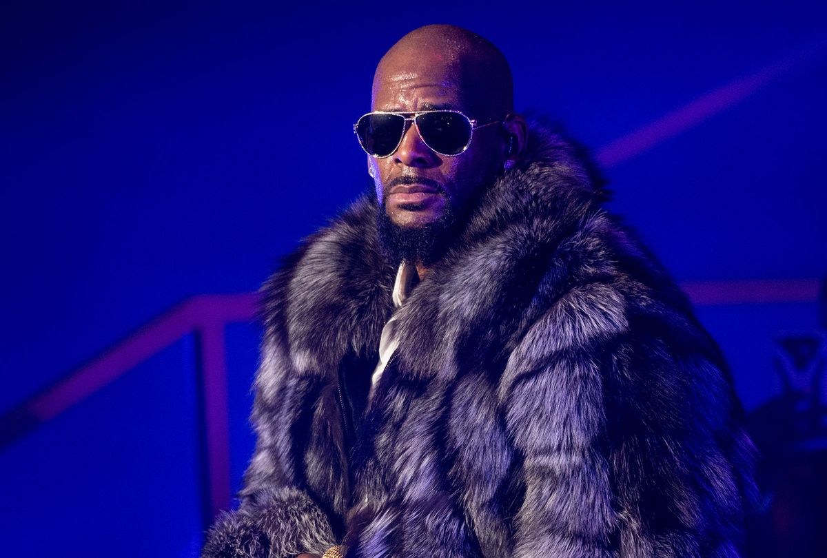 Singer R. Kelly performs in concert during the '12 Nights Of Christmas' tour at Kings Theatre on December 17, 2016 in Brooklyn (Noam Galai/Getty Images)
