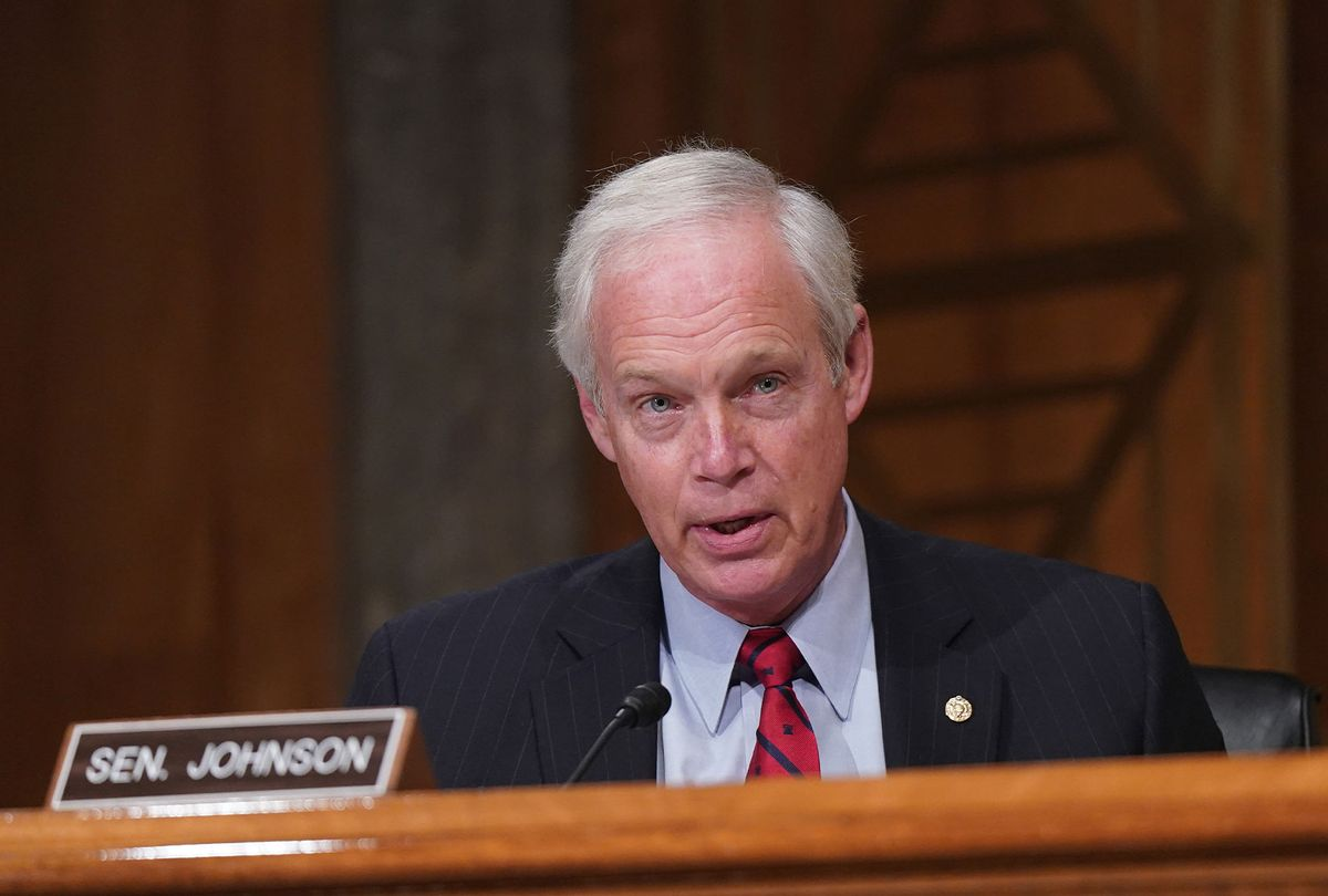 Sen. Ron Johnson (R-WI) (Leigh Vogel-Pool/Getty Images)