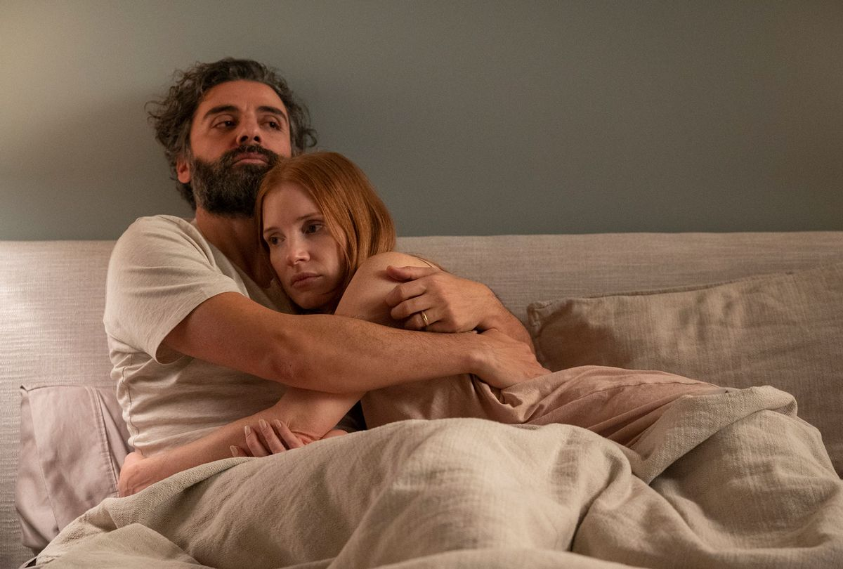 """Oscar Isaac and Jessica Chastain in """"Scenes From a Marriage"""" (Jojo Whilden/HBO)"""