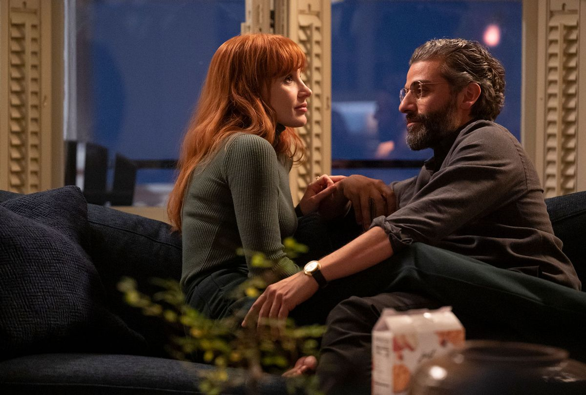 """Jessica Chastain and Oscar Isaac in """"Scenes from a Marriage"""" (Jojo Whilden/HBO)"""