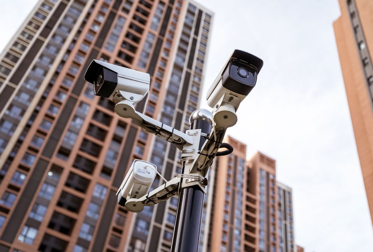 Security camera in the city (Getty Images/Zhengshun Tang)