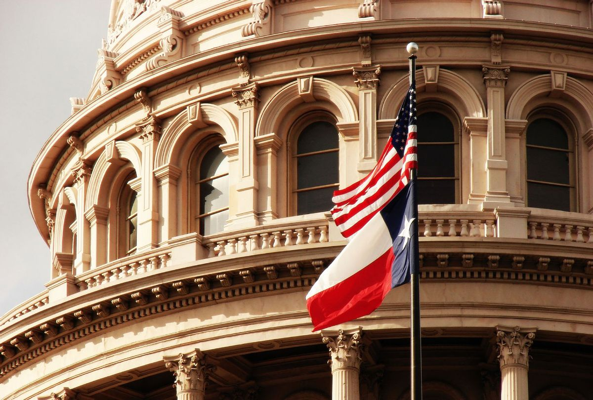 Texas State Capitol Building & Flag (Getty Images/Sarah Elizabeth Owen)