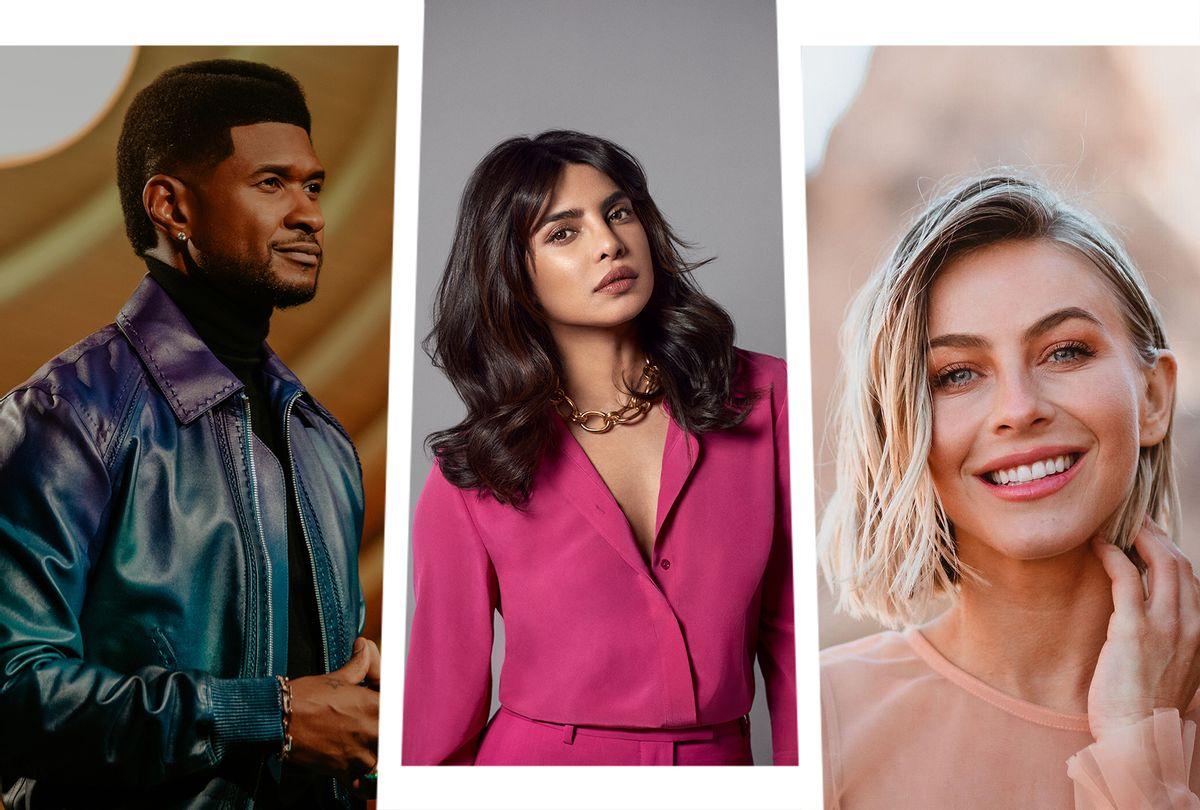 "Usher, Priyanka Chopra Jonas and Julianne Hough were named as co-hosts of ""The Activist"" (Photo illustration by Salon/CBS)"