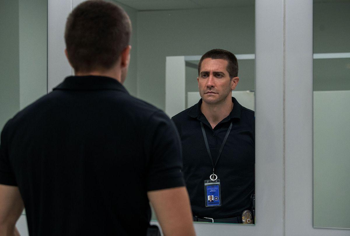 """Jake Gyllenhaal in """"The Guilty"""" (Glen Wilson/Netflix)"""
