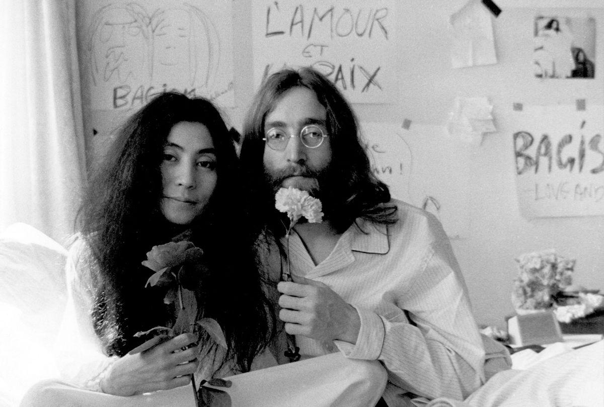 Yoko Ono and John Lennon, circa 1970 (Michael Ochs Archives/Getty Images)