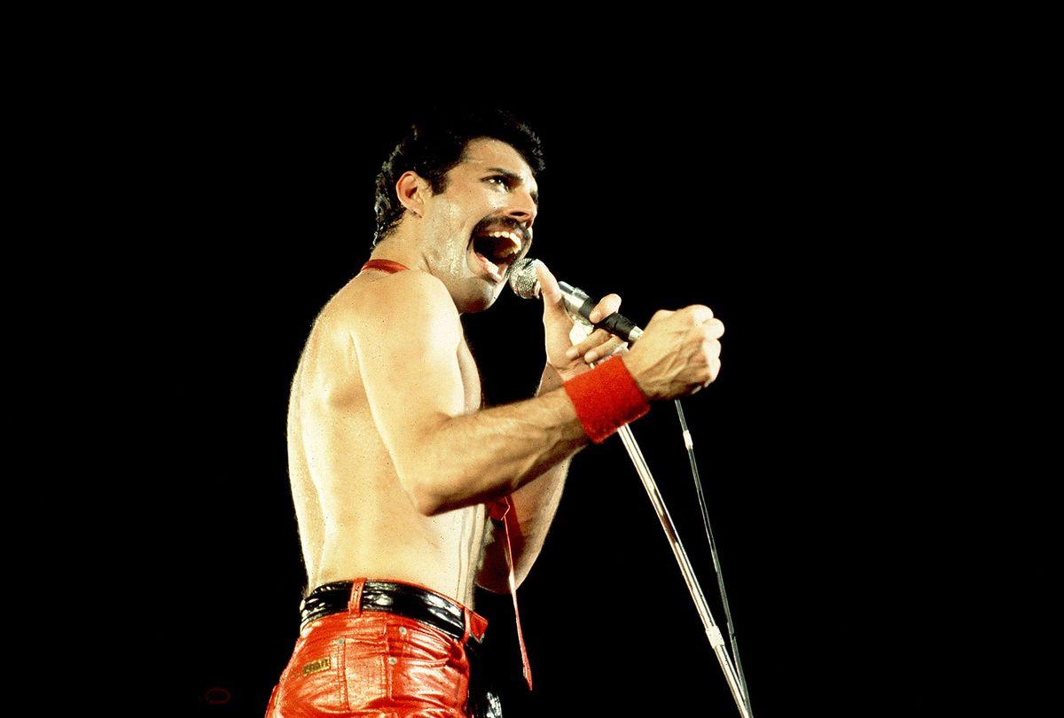 Freddie Mercury of Queen on September 19, 1980 in Chicago, Il. (Paul Natkin/WireImage)