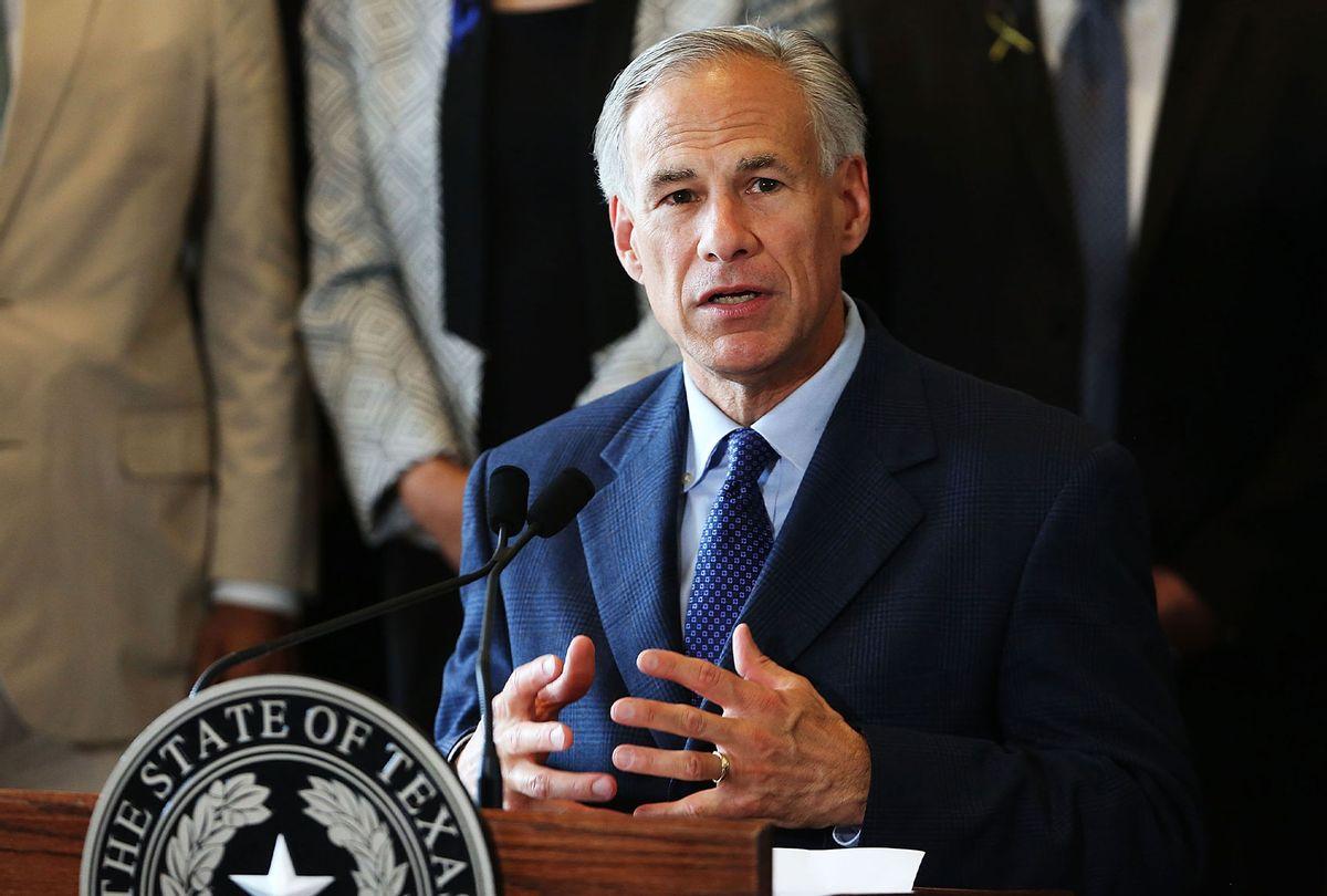 Texas Governor Greg Abbott (Spencer Platt/Getty Images)
