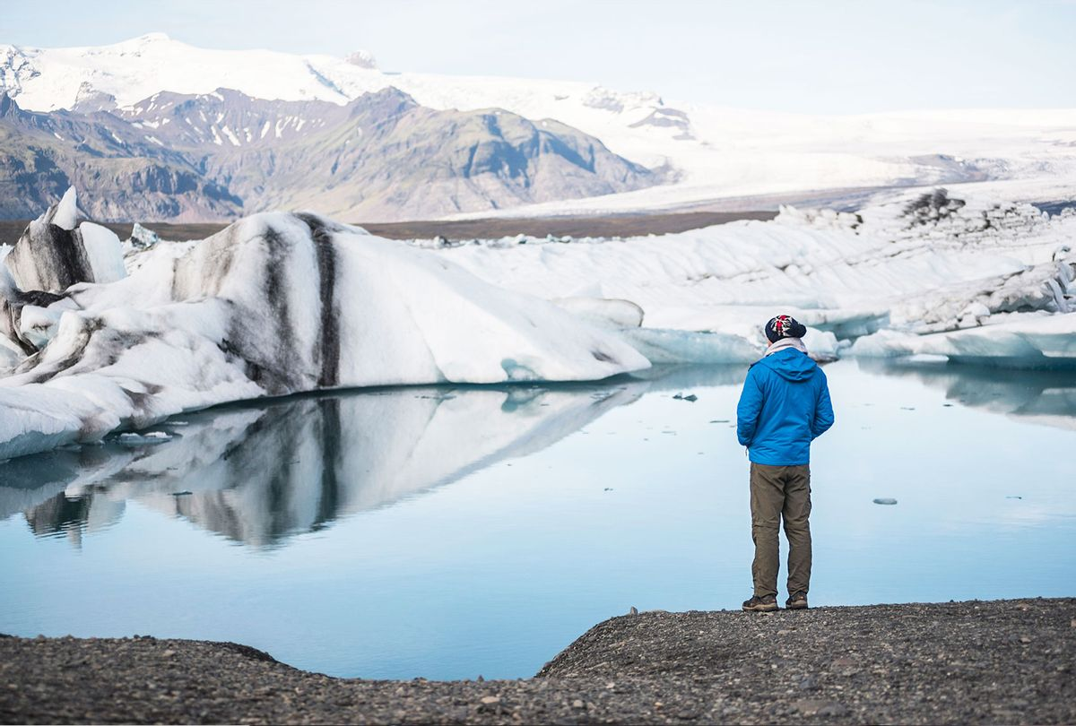 Conservationist thinking about the future of climate change and global warming (Getty Images/Matthew Williams-Ellis)