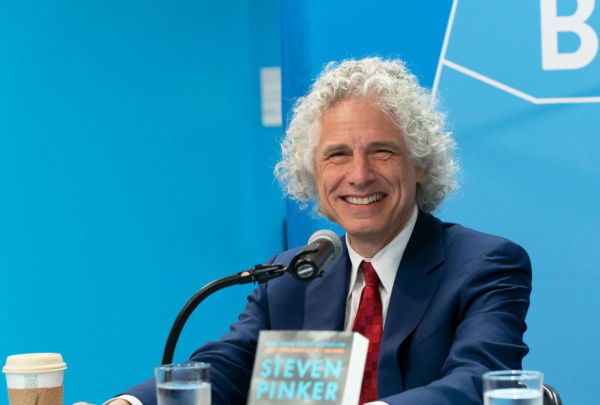 Author Steven Pinker (Lev Radin/Pacific Press/LightRocket via Getty Images)