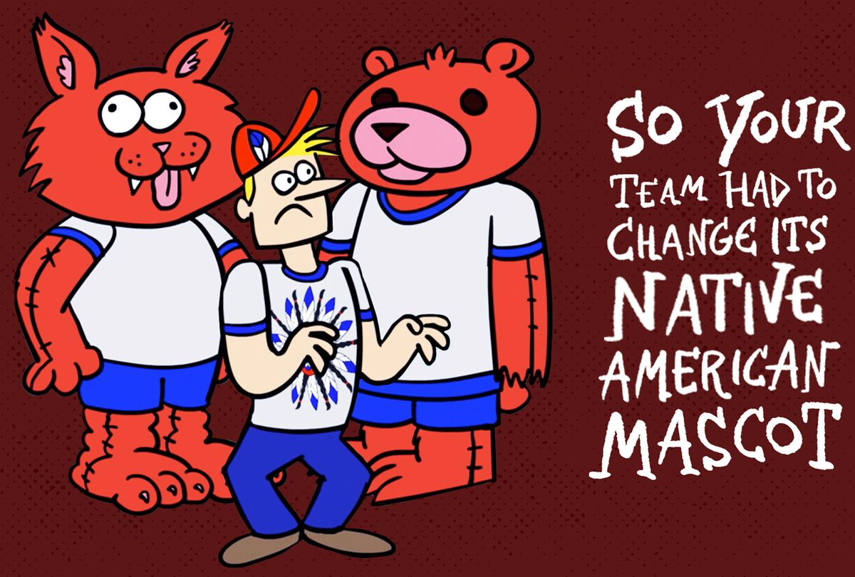 How to Cope with Your Team Changing Its Native American Mascot (Comedy Central)