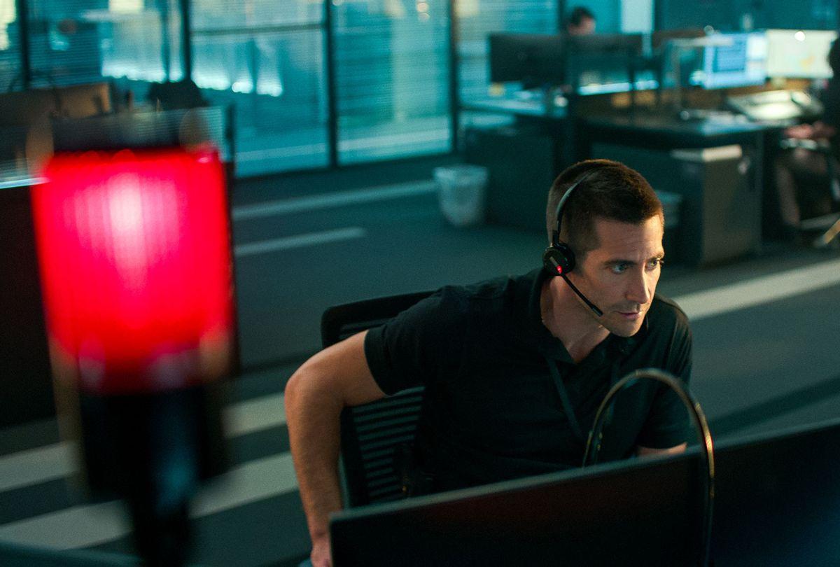 "Jake Gyllenhaal in ""The Guilty"" (Netflix)"
