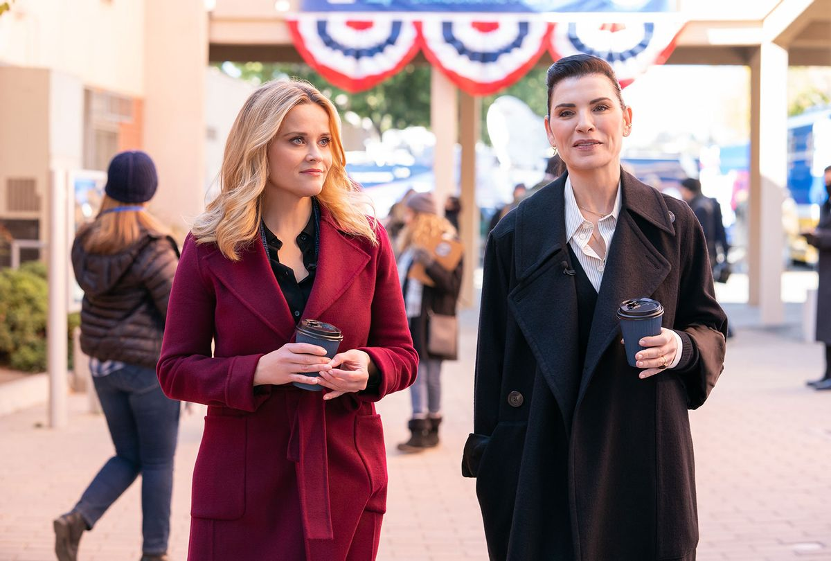 """Reese Witherspoon and Julianna Margulies in """"The Morning Show"""" (Apple TV+)"""