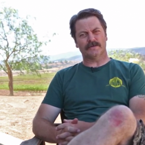 """Nick Offerman turns Reddit's shower thoughts into statements of """"simple genius"""""""