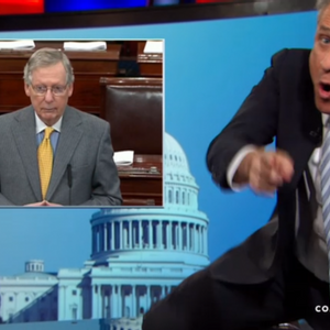 """""""Son of a b*tch!"""" Jon Stewart hammers """"disingenuous"""" GOP and """"dumb-ass"""" Dems over anti-sex trafficking fiasco"""