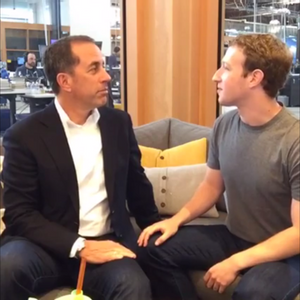 Jerry Seinfeld's Q&A with Mark Zuckerberg is just plain awkward — see for yourself