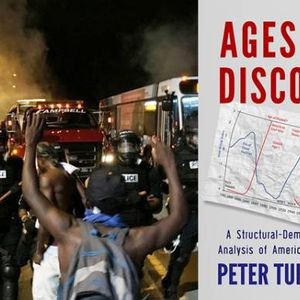 Breaking point: America approaching a period of disintegration, argues anthropologist Peter Turchin