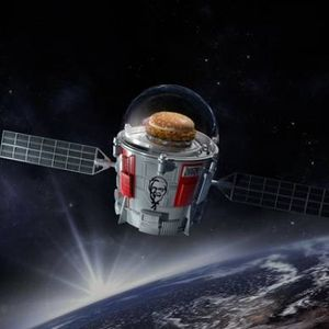 How depressing is space privatization? KFC is sending a chicken sandwich to space