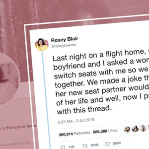 "That viral ""strangers on a plane"" Twitter story: Not a rom-com but a horror show"