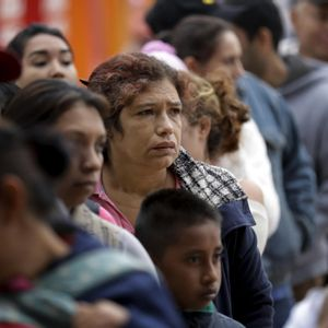 Thousands of asylum seekers waiting at the US-Mexico border