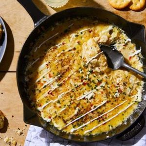 The easiest, cheesiest skillet dip for when you need a killer app, stat