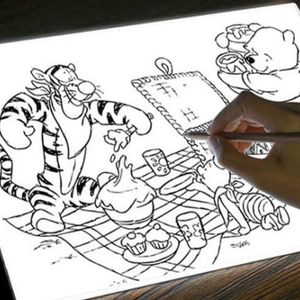 Bring out your inner Rembrandt with this tracing pad