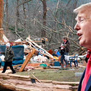 """A-plus treatment"" for Alabama tornado victims: Trump decides which lives matter — and which do not"