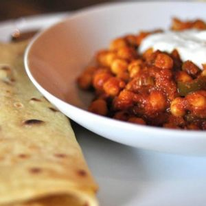 Chana Masala is an Indian staple and popular street food you can easily make at home