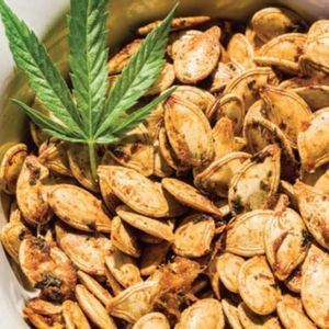Shake up movie night at home with this CBD-infused snack