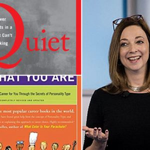 """Susan Cain's """"Quiet"""" revolution started with reading this book"""