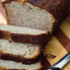 What's a great way to use up bananas that got too ripe? This banana bread is so moist and delicious