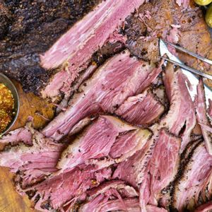 Steven Raichlen's barbecue brisket for you for Memorial Day