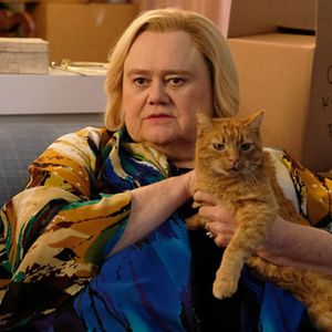 """Baskets"" star Louie Anderson ""had a lot of gut punches"" playing Christine this season"