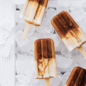 Cappuccino ice pops: Coffee is best served ice cold on a hot summer's day