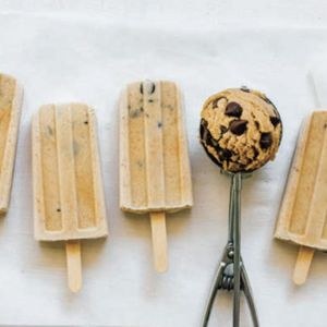 Chocolate chip cookie dough pops: Enjoy your favorite guilty pleasure with a lot less of the guilt