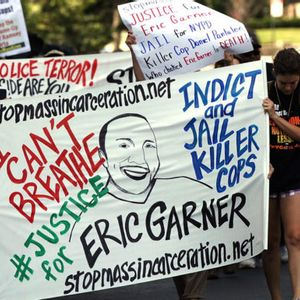 """""""We can't breathe"""": Justice Department declines to charge officer in chokehold death of Eric Garner"""