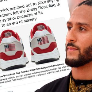 Conservatives exposed the absurd truth about their ideology by flipping out over a shoe