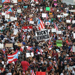 Puerto Ricans mobilize mass protest to demand resignation of Gov. Ricardo Rosselló