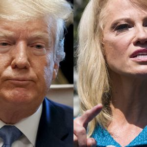 While denying President Trump is a racist, Kellyanne Conway asks a reporter about his ethnicity