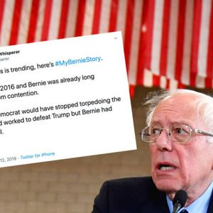Twitter sleuths uncover an anti-Sanders conspiracy — and the pundit class is furious