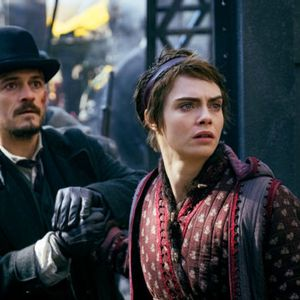 """Carnival Row"": Orlando Bloom and Cara Delevingne's fairy tale is fractured by competing narratives"
