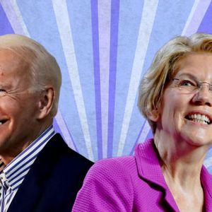Elizabeth Warren climbs past Bernie Sanders to second place in post-debate poll