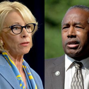 Betsy DeVos, Ben Carson send anti-trans signals to Trump's evangelical base