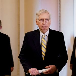 "McConnell co-sponsors election security amendment after weeks of being called ""Moscow Mitch"""