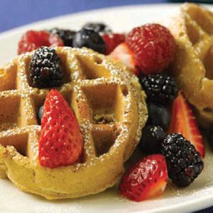 Oatmeal pecan waffles: Your kids will jump right out of bed for this delicious breakfast