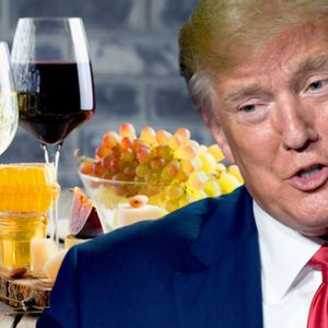 Trump proposes 100% tariff that would double the cost of European wine, cheese and olive oil